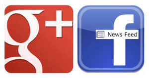 Google + and Facebook make changes
